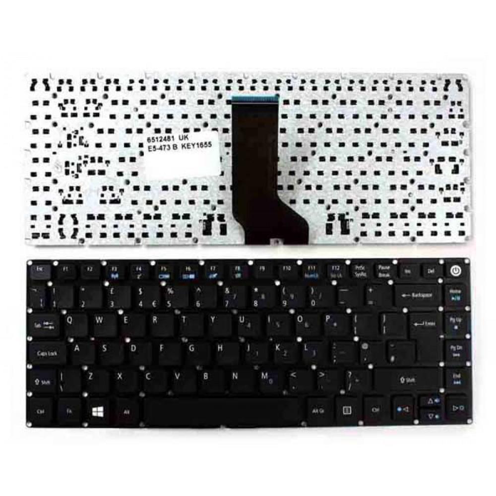 Bàn phím Acer ASPIRE E5-473 màu đen keyboard