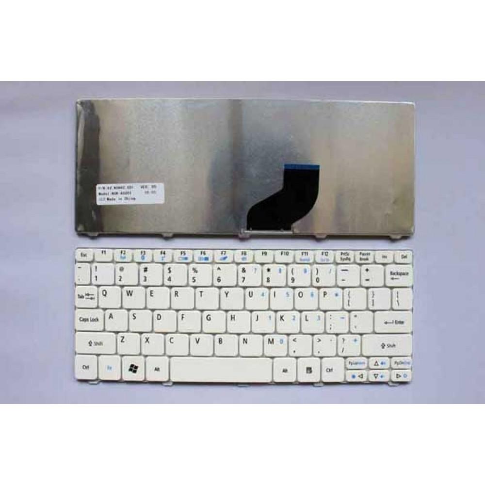 Bàn phím Acer ASPIRE ONE 532H 532G 521 D255 D260 eM350 GATEWAY LT27 NETBOOK MINI SERIES Màu Trắng keyboard