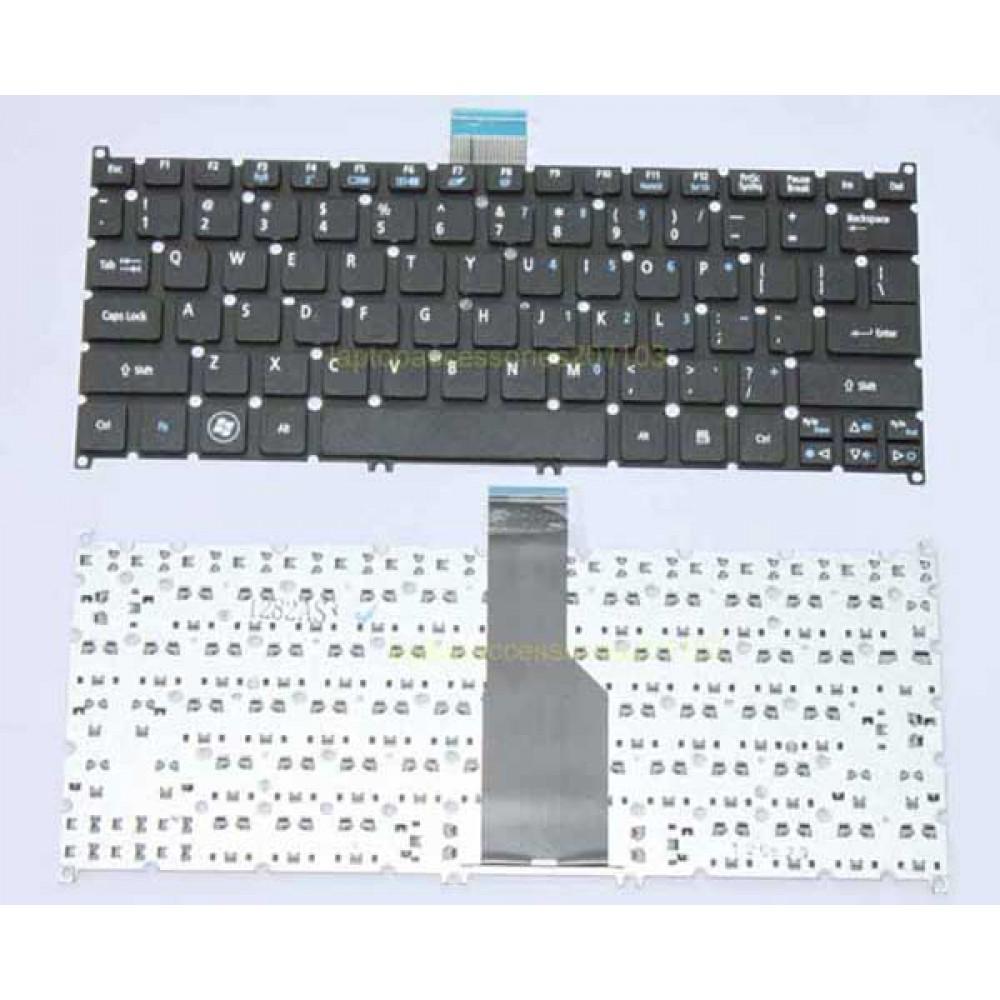 Bàn phím Acer Aspire One 756 725 S3-371 V5-121 màu xám bạc keyboard