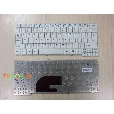 Bàn phím Aspire One A110 A150 D150 D250,kav60 Màu Trắng keyboard