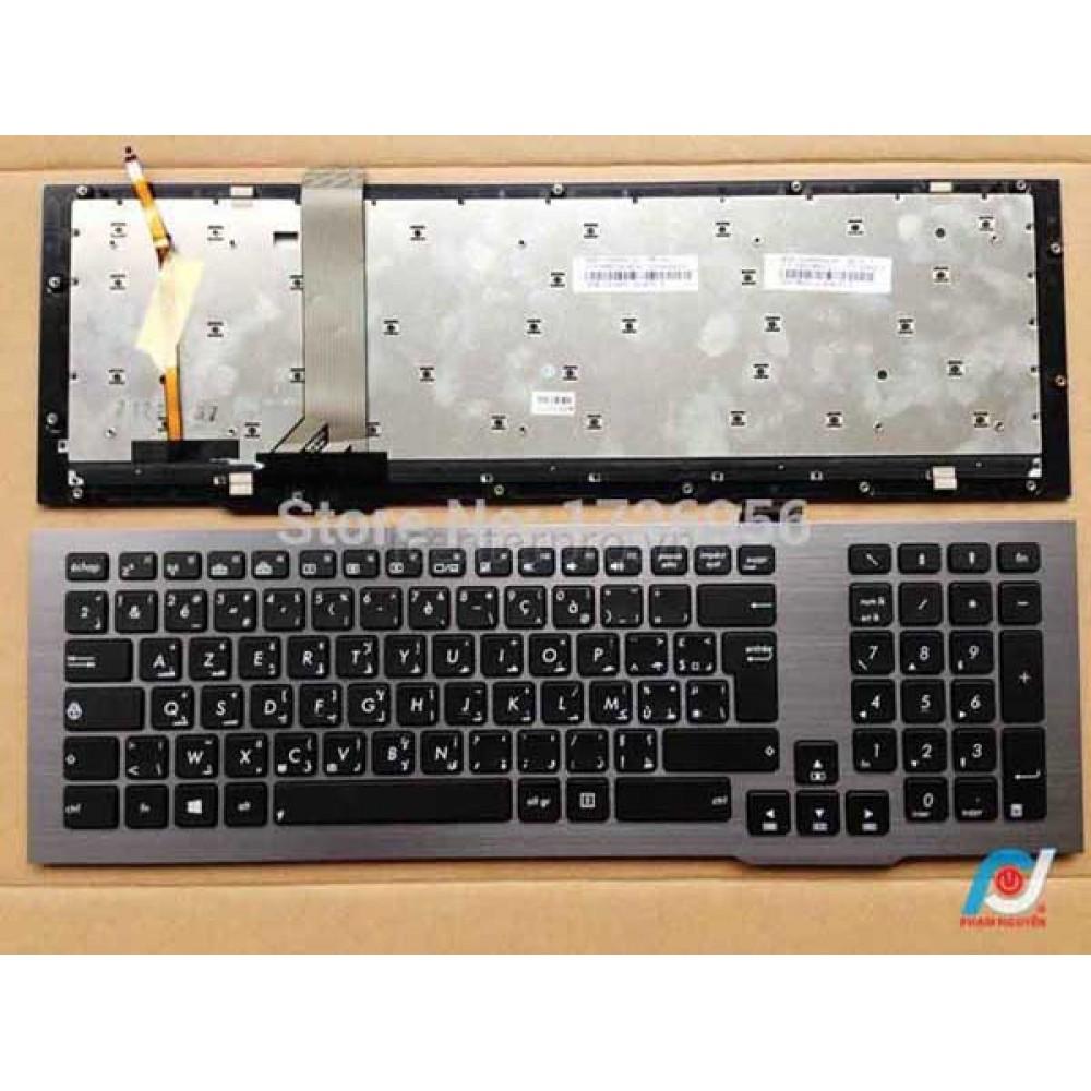 Bàn phím Asus G75V G75VW (CÓ KHUNG+ ĐÈN) keyboard