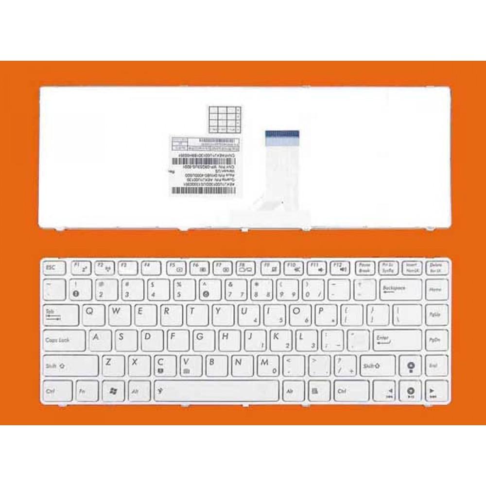Bàn phím Asus K42 UL30 X42 X42J K43 X45 X44 X43 X43S A83S (MÀU TRẮNG) keyboard
