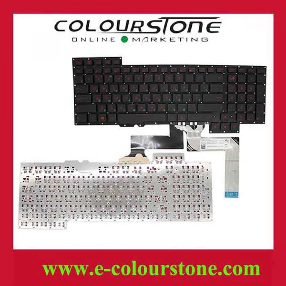 Bàn phím Asus ROG G751 (màu đen) ENTER NHỎ keyboard