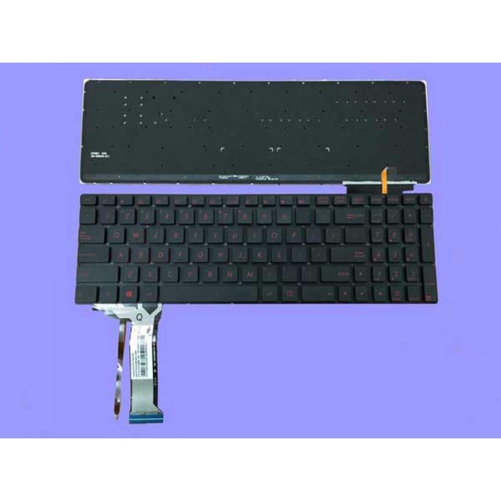 Bàn phím Asus ROG GL552 G550 G550JK G550JX GL550 G551màu đen +CÓ ĐÈN ENTER NHỎ keyboard