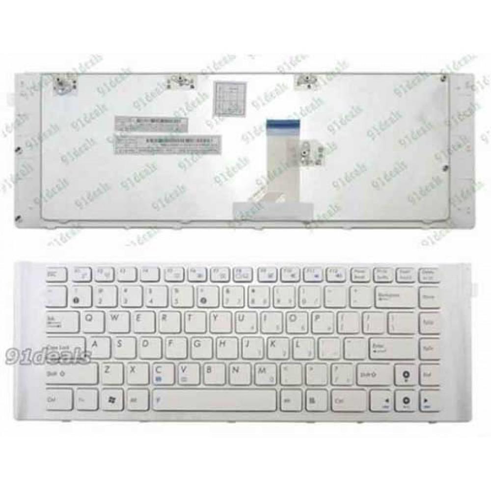 Bàn phím Asus X42 X42J A40J A40E U80E (MÀU TRẮNG) keyboard