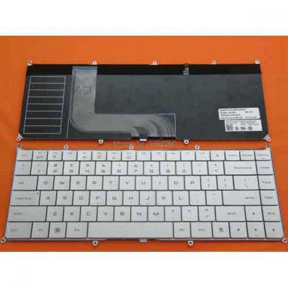 Bàn phím Dell Adamo 13S màu bạc+Có Đèn keyboard
