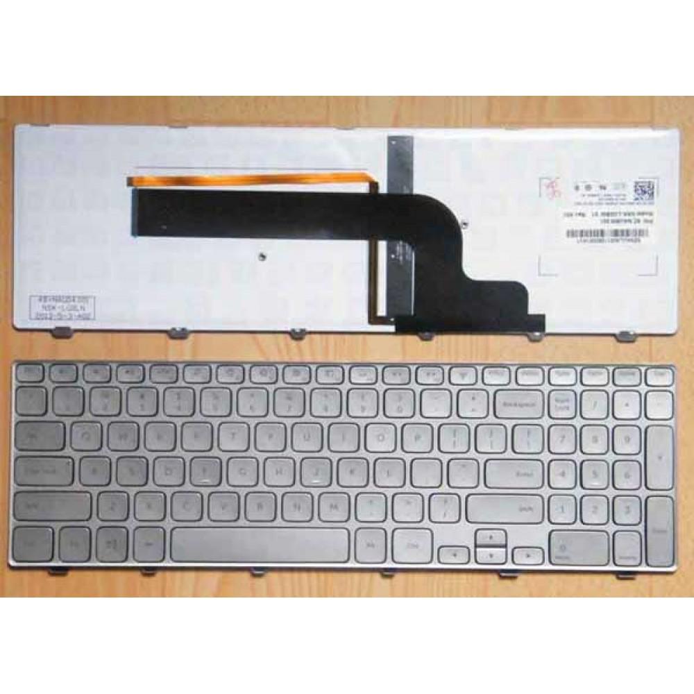 Bàn phím Dell Inspiron 15- 7000 7537 (Có Đèn) tiếng anh keyboard