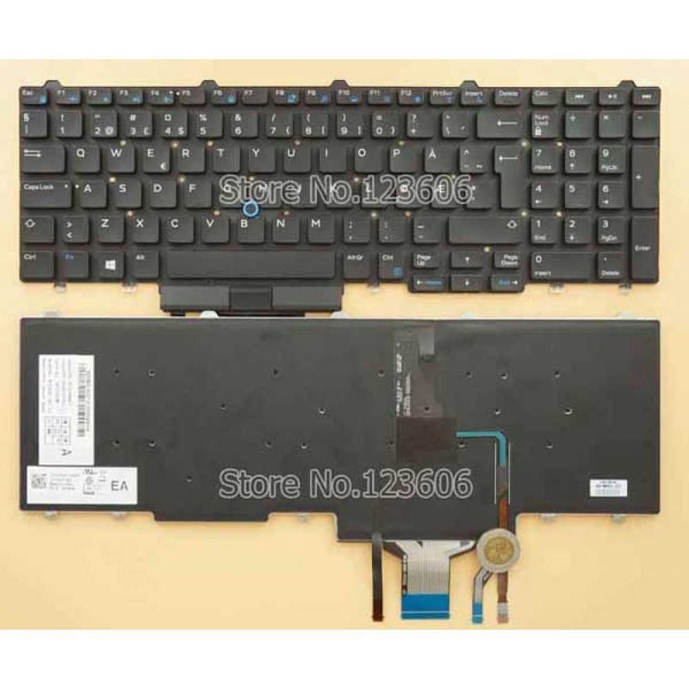 Bàn phím Dell Latitude E5550 Dell Precision 3520 7520 7720(Có Đèn) keyboard