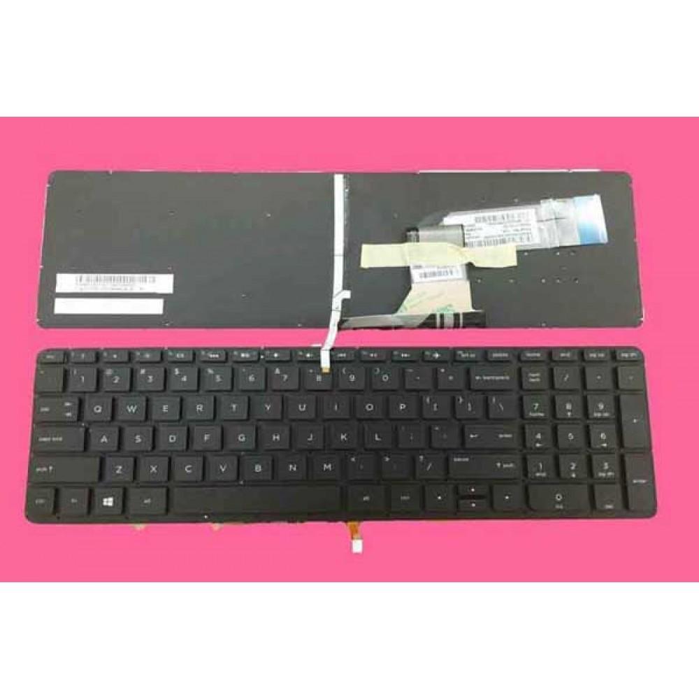 Bàn phím HP 15V 15P màu đen + CÓ ĐÈN keyboard