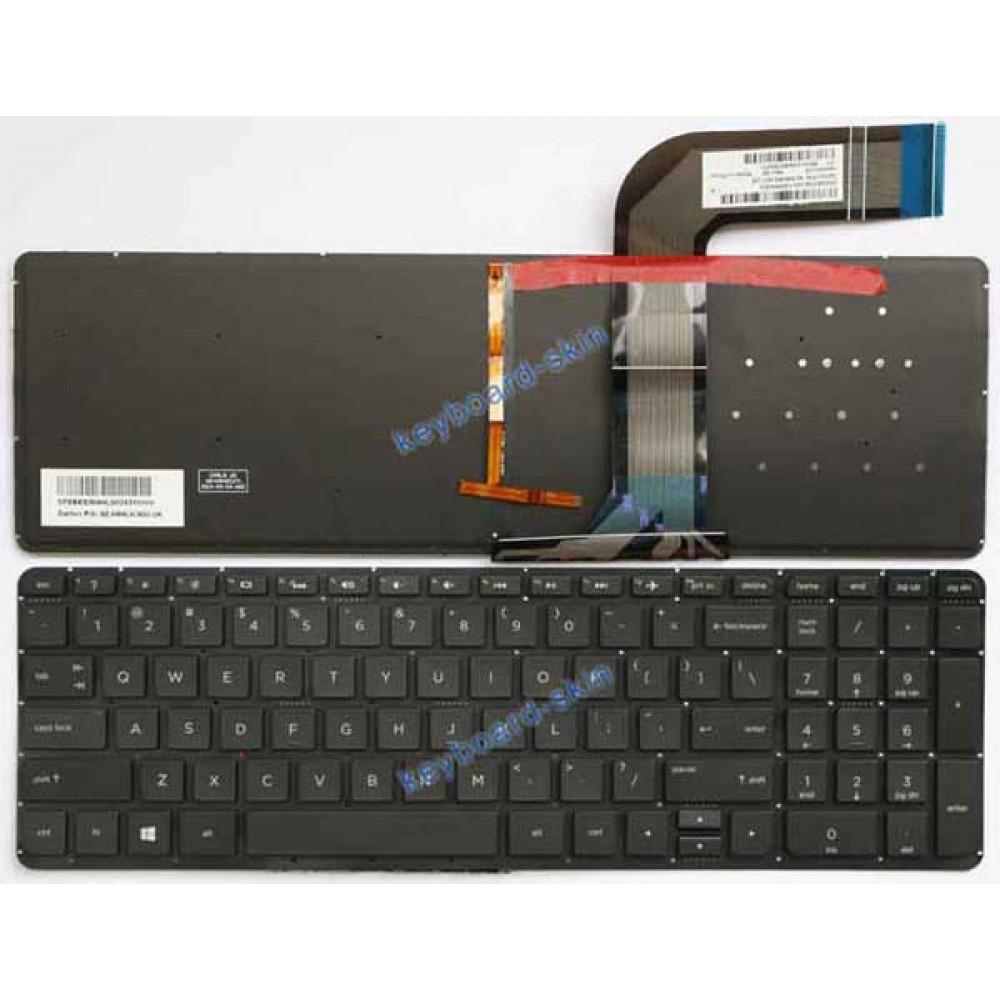 Bàn phím HP 15V 15P màu đen keyboard