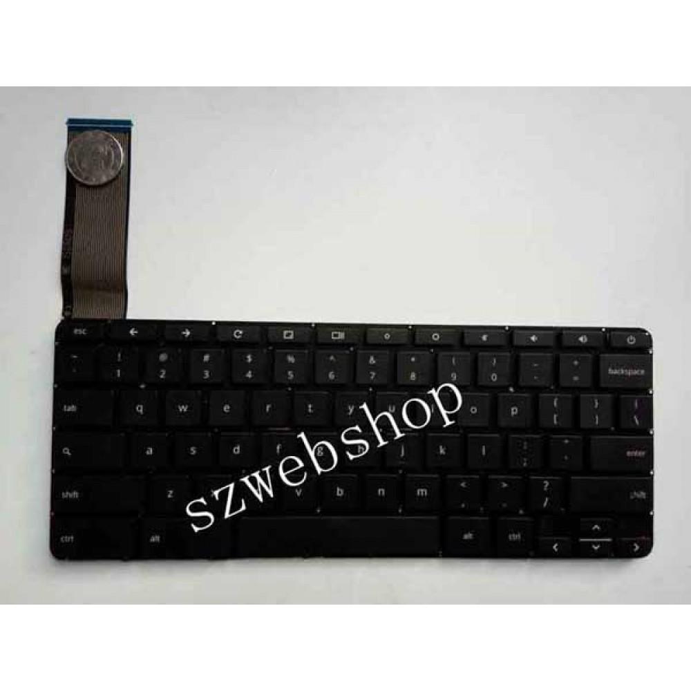 Bàn phím HP Chromebook 14 14-X màu đen keyboard