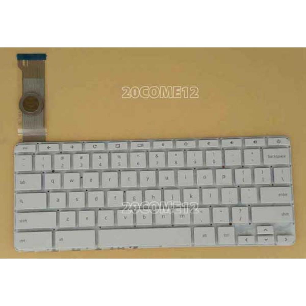 Bàn phím HP Chromebook 14 14-X MÀU TRẮNG keyboard