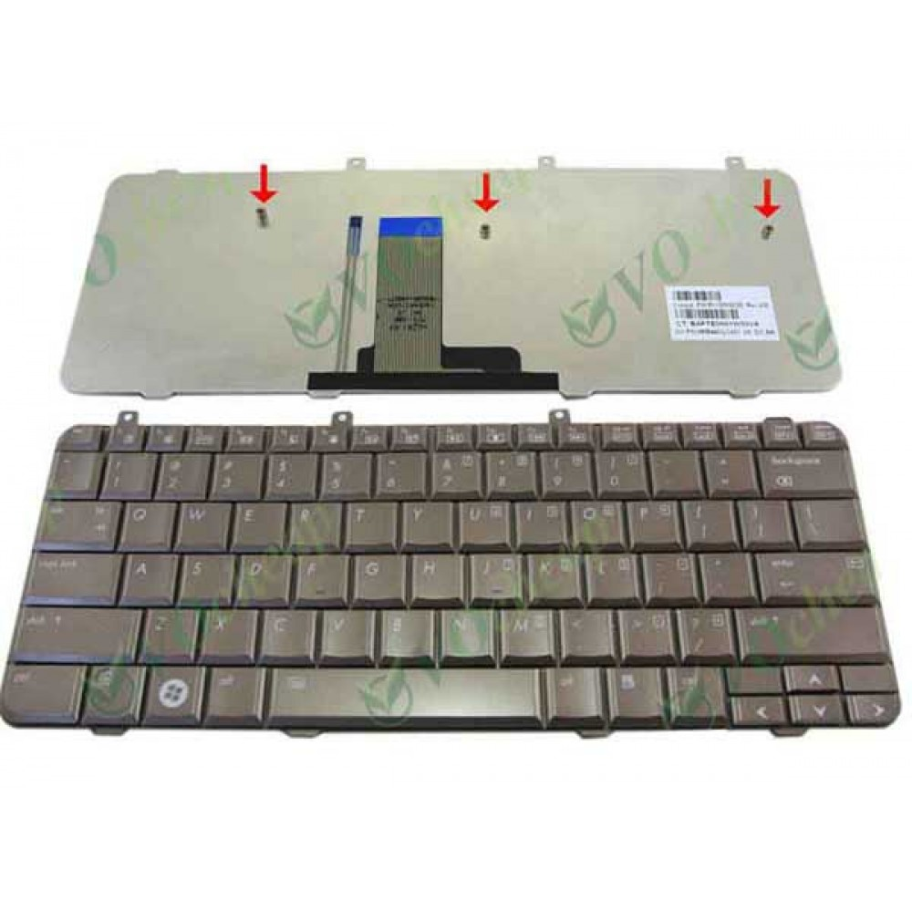 Bàn phím HP DV3-1000 (màu đồng) keyboard