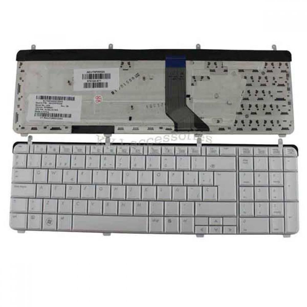 Bàn phím HP DV7-2000 DV7-3000 (Màu TRẮNG) keyboard