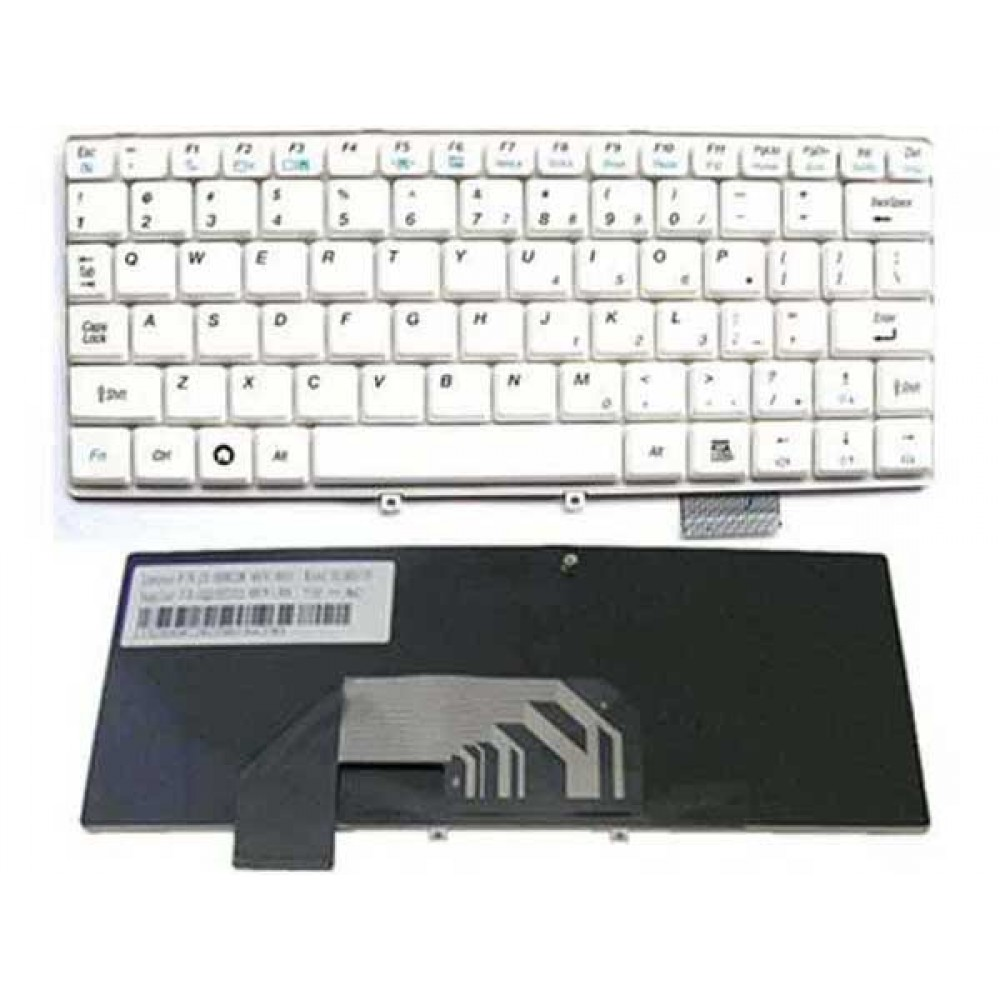Bàn phím Lenovo S10 MÀU TRẮNG keyboard
