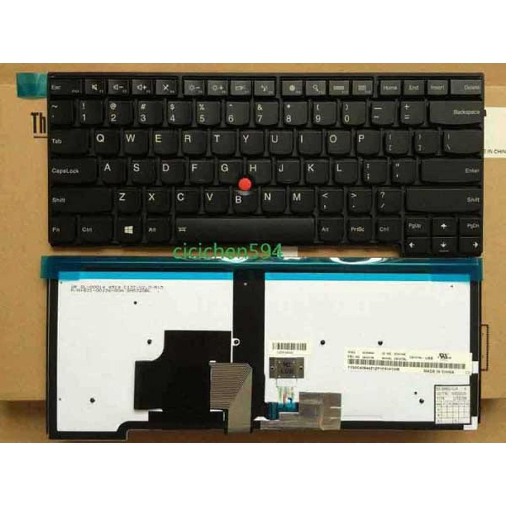 Bàn phím Lenovo Thinkpad T440 T440P T440S E440 E431 T431S T450 T460 (tiếng anh+có đèn) TỐT keyboard