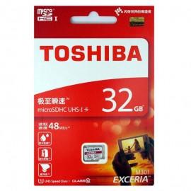 Thẻ nhớ MicroSD Toshiba 32G class 10 chính hãng