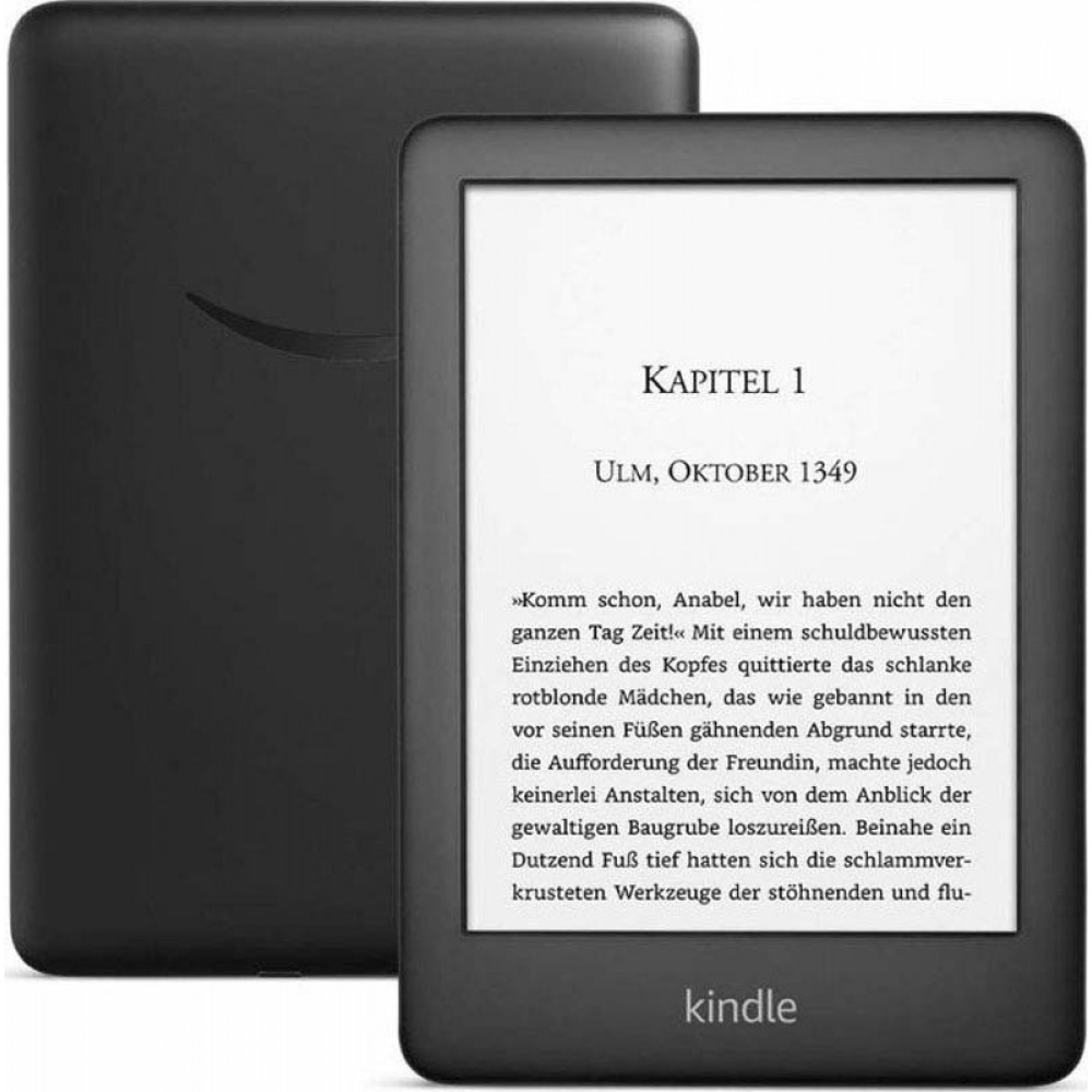 "máy đọc sách New Kindle (10th Gen), 6"" Display now with Built-in Light, 4 GB, Wi-Fi, Black"