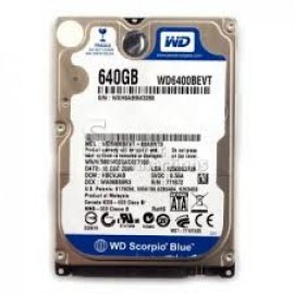 ổ cứng laptop 640GB (hdd 2.5 inch)