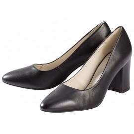 Giày ESMARA Leder-Pumps màu đen - da dê cao cấp đế da có đệm