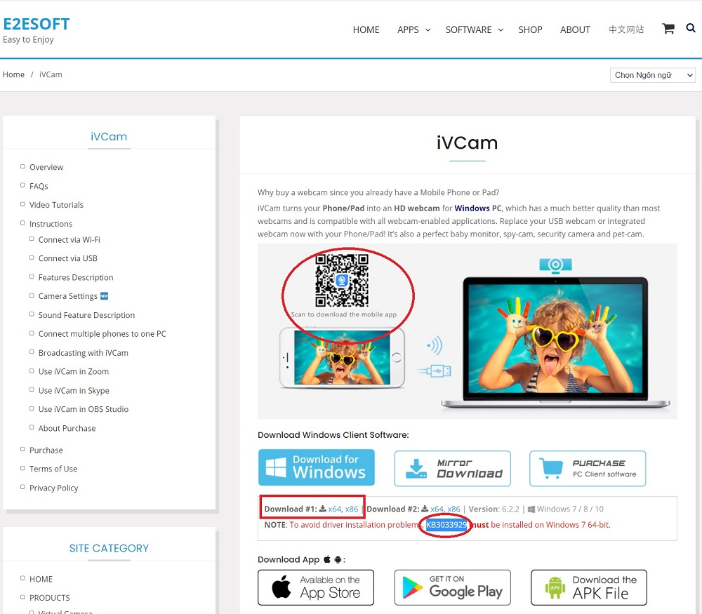 Hướng dẫn sử dụng điện thoại làm Webcam cho máy tính để bàn, laptop